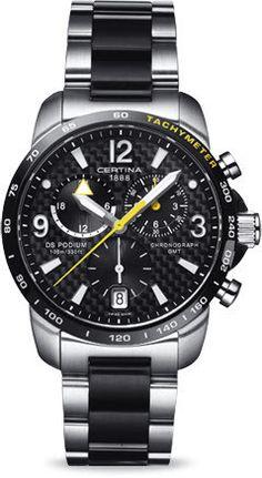 Certina Watch DS Podium Big Size Chrono GMT Quartz