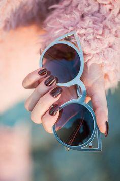 Beautiful Cat eye sunglasses www.------ : Beautiful Cat eye sunglasses www. Fashion Moda, Indie Fashion, Teen Fashion, Womens Fashion, Cheap Fashion, Fashion Outfits, Luxury Sunglasses, Ray Ban Sunglasses, Cat Eye Sunglasses