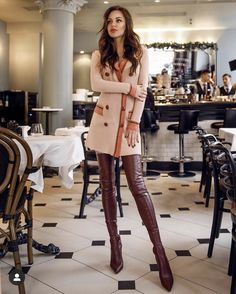 Thigh High Boots Heels, Hot High Heels, Heeled Boots, Sexy Stiefel, Crotch Boots, Leder Boots, High Leather Boots, Sexy Boots, Fashion Boots