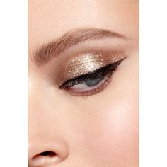 Magnificent Metals Glitter Glow Liquid Eye Shadow (€20) ❤ liked on Polyvore featuring beauty products, makeup, eye makeup and eyeshadow