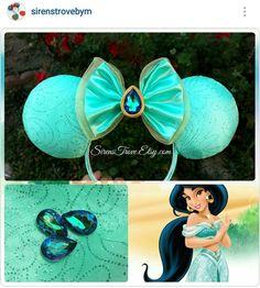 Princess Jasmine Mickey ears