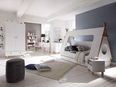 Armoire INDIANA en MDF blanc | Armoires de chambre | Armoires | Meubles | massivum