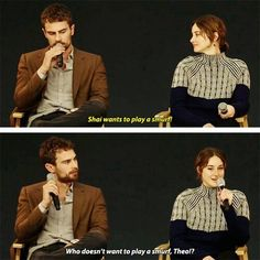 I love Shai! Her sense of humor...