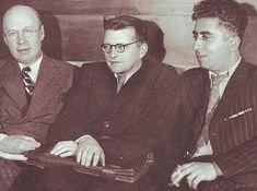 Sergei Prokofiev, Dmitri Shostakovich & Aram Khachaturian   1940
