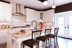 granite new venetian gold subway tile backsplash contemporary kitchen design