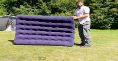 Watch How To Inflate An Air Mattress Without A Pump! So Clever!