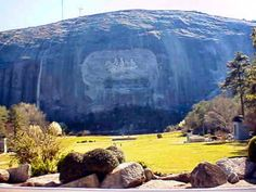 Stone Mountain GA... checked off the bucket list of places to go