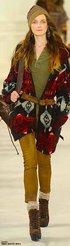 NYFW Polo by Ralph Lauren Fall Winter 2014 RTW http   www 9992946ef2230