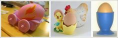 Easter Egg Crafts: Decorating The Easter Breakfast Table With Egg Cups