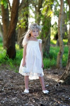 French Vanilla Dress Ivory/Off White Lace - Tea Princess