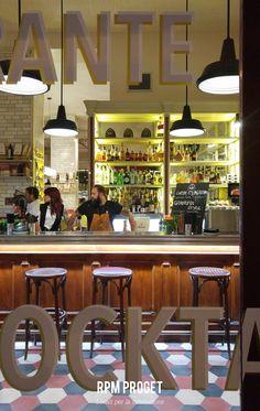 Centro Restaurant - via Cavour n° 61 #roma  Design by RPM Proget