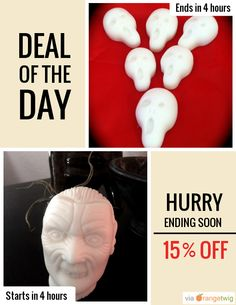 Today Only! 15% OFF this item. Follow us on Pinterest to be the first to see our exciting Daily Deals. Today's Product: The Scream Soap Set Buy now: https://orangetwig.com/shops/AAADFc8/campaigns/AABcT8q?cb=2015010&sn=MollycoddleSoap&ch=pin&crid=AABcT8h&exid=164189863
