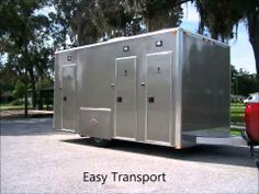 The New Go-Low Trailers from Portable Restroom Trailers.
