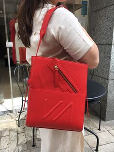 The ultimate shopper Bag Organization, Leather Design, You Bag, Hermes Kelly, 2 In, Pouch, Branding, Red, Bags