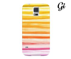 Colorful stripes hard back case cover for iPhone 6s by GisoloShop