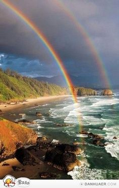 Double rainbow - awesome!