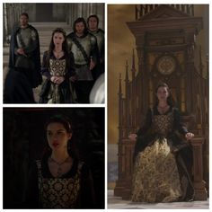Mary's Black and Gold Dress 2x01: The Plague
