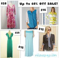 Sales are the BEST! http://www.modestpop.com/collections/sale-1