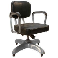 Vintage Industrial Cole Steel Office Chair Industrial