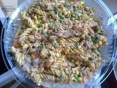ΣΑΛΑΤΕΣ – Koykoycook Meat Salad, Pasta Salad, Salads, Rice, Ethnic Recipes, Food, Crab Pasta Salad, Essen, Meals