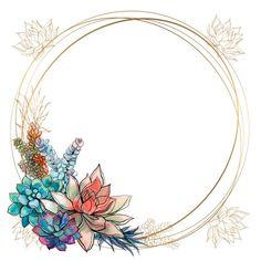 Floral Logo, Floral Prints, Flower Graphic Design, Flower Clipart, Print Wallpaper, Floral Border, Border Design, Grafik Design, Flower Frame