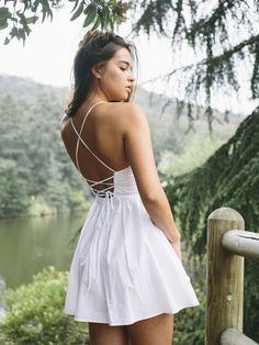 Tie back dress by AA