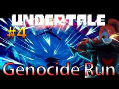 Let's Play Undertale [Genocide] - Undyne Just Got Serious! (Part 4) HD