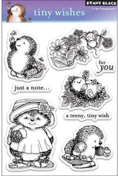 Penny Black Clear Stamps - Tiny Wishes (30-026)