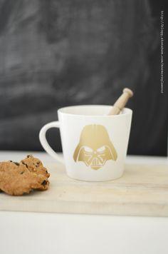 DIY-Make your own cool Darth Vader coffee mug | DIY Grandma Glamour