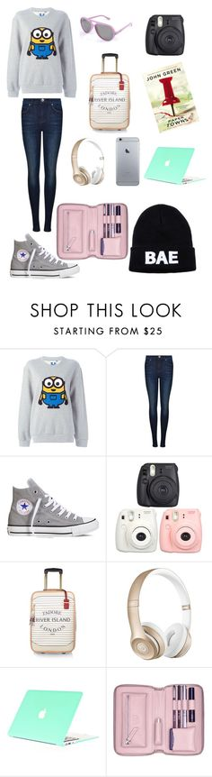 """""""Plane rides"""" by emmyjoe222 ❤ liked on Polyvore featuring Steve J & Yoni P, Dr. Denim, Converse, River Island, Beats by Dr. Dre, Lili Radu and Domo Beads"""