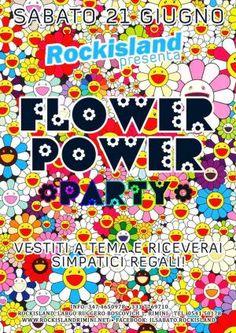 Sabato festa Flower Party al Rockisland #Rimini!