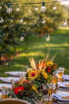 Welcoming Autumn With An Orchard Dinner | theglitterguide.com