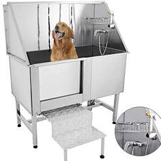 Pet Shop, Dog Grooming Shop, Dog Grooming Salons, Dog Bath Tub, Cat Bath, Dog Bathing Station, Diy Dog Wash, Dog Rooms, Dog Shower