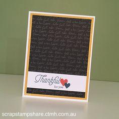 Scrap Stamp Share: CTMH Australasian Blog Hop - S1609 Blessed Beyond Measure…