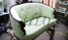 HOW TO UPHOLSTER A LOVE SEAT - ALO Upholstery