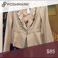 ✂️ NWT. White House/Black Market beige suit jacket NWT. White House/Black Market beige suit jacket. Size 4 White House Black Market Jackets & Coats Blazers