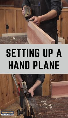 A hand plane only cuts well when it is adjusted properly. Adam Peterson shows how to set up a simple test to make sure the blade of your plane is perfectly square to the sole of your plane. Woodworking Hand Planes, Woodworking Guide, Woodworking Skills, Custom Woodworking, Fine Woodworking, Woodworking Projects Plans, Woodworking Garage, Woodworking Techniques, Woodshop Tools