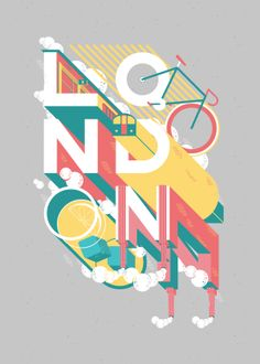 Show us your type - London by Pablo & Co, via Behance