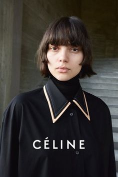 Celine Fall Winter Campaign by Juergen Teller Hot Haircuts, Bob Hairstyles, Beach Hairstyles, Hairstyle Men, Formal Hairstyles, Wedding Hairstyles, Fashion Details, Look Fashion, Fashion Trends