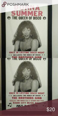 Donna Summer Donna Summer concert photo Other