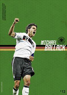 Football Posters by Luke Barclay, via Behance