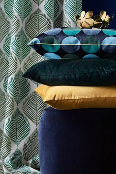 Get festive with affordable home accents that will brighten up your living room during cold winter months. Little additions like stylish IKEA cushion covers go a long way without breaking the bank.