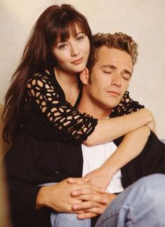 Dylan & Brenda- Beverly Hills 90210. I still watch repeats..... oh so good.
