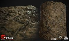 Some of the blendeables textures made for Factory Exterior maps in Gears of War Ultiamte Edition