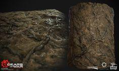 ArtStation - Mud blendeable textures, Ayi Sanchez