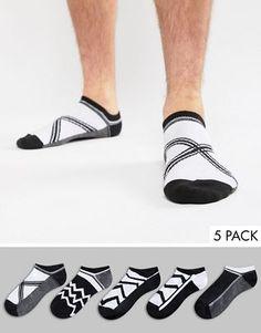 Buy ASOS DESIGN Trainer Socks In Monochrome Design 5 Pack multipack saving at ASOS. Get the latest trends with ASOS now. Monochrome, Pineapple Socks, Socks World, Hunter Socks, Cabin Socks, Bad Room Ideas, Asos, Ankle Socks, Men's Socks