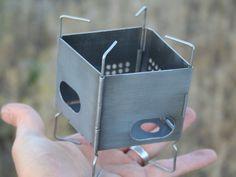 "FIREBOX NANO: Ultra-Light Wood-Burning Backpacking Stove by Folding Firebox — Kickstarter.  Small, but fierce! The new 3"" Folding Firebox Nano is the most versatile & powerful wood-burning / multi-fuel stove in its class."