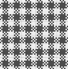gingham - # # knitting pattern for socks Gingham – # # knitting pattern for socks Plaid Crochet, Crochet Motifs, Afghan Crochet Patterns, Crochet Chart, Filet Crochet, Fair Isle Knitting Patterns, Knitting Charts, Weaving Patterns, Knitting Stitches