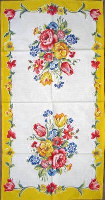 vintage kitchen towels -- Sharon's Antiques