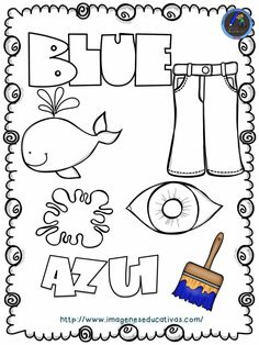 How to Learn Spanish Verbs Preschool Spanish, Spanish Activities, Spanish Classroom, Color Activities, Teaching Spanish, Learning Activities, Preschool Activities, Teaching Kids, Kids Learning